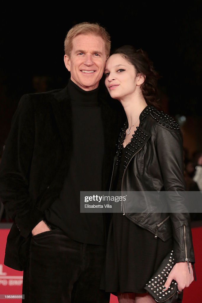 Actor <a gi-track='captionPersonalityLinkClicked' href=/galleries/search?phrase=Matthew+Modine&family=editorial&specificpeople=211363 ng-click='$event.stopPropagation()'>Matthew Modine</a> and Ruby Modine attend the 'Bullets To The Head' Premiere during the 7th Rome Film Festival at the Auditorium Parco Della Musica on November 14, 2012 in Rome, Italy.