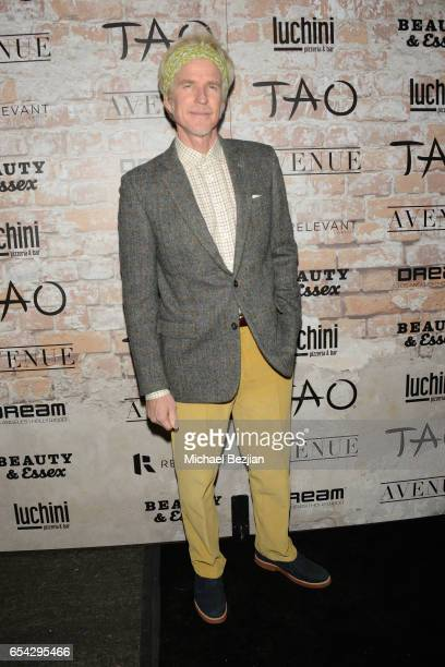 Actor Matthew Modine attends day one of TAO Beauty Essex Avenue Luchini LA Grand Opening on March 16 2017 in Los Angeles California