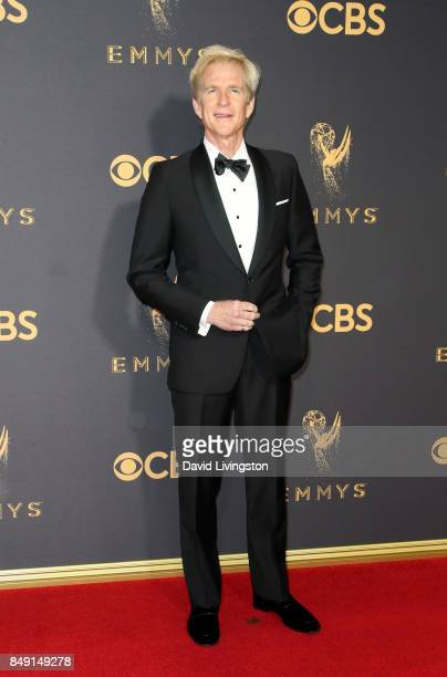 Actor Matthew Modine attends the 69th Annual Primetime Emmy Awards Arrivals at Microsoft Theater on September 17 2017 in Los Angeles California