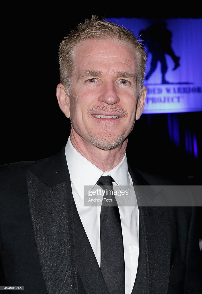 Actor Matthew Modine attends the 9th annual Wounded Warrior Project Courage Awards & Benefit Dinner at The Waldorf=Astoria on May 29, 2014 in New York City.
