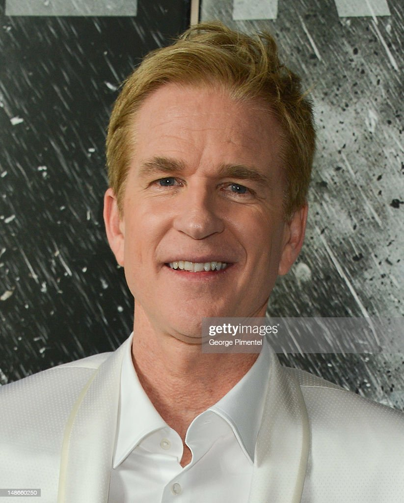 Actor <a gi-track='captionPersonalityLinkClicked' href=/galleries/search?phrase=Matthew+Modine&family=editorial&specificpeople=211363 ng-click='$event.stopPropagation()'>Matthew Modine</a> attends The Canadian Premiere of 'The Dark Knight Rises' at Scotiabank Theatre on July 18, 2012 in Toronto, Canada.