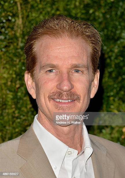 Actor Matthew Modine attends the CHANEL Tribeca Film Festival Artists Dinner at Balthazar on April 22 2014 in New York City