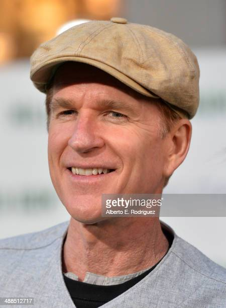 Actor Matthew Modine attends the premiere of Disney's 'Million Dollar Arm' at the El Capitan Theatre on May 6 2014 in Hollywood California