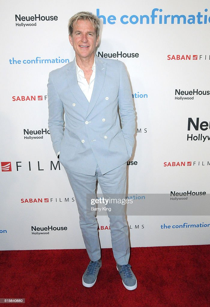 Actor <a gi-track='captionPersonalityLinkClicked' href=/galleries/search?phrase=Matthew+Modine&family=editorial&specificpeople=211363 ng-click='$event.stopPropagation()'>Matthew Modine</a> attends the Premiere of Saban Films' 'The Confirmation' at NeueHouse Hollywood on March 15, 2016 in Los Angeles, California.