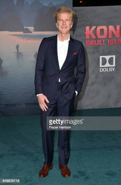 Actor Matthew Modine attends the premiere of Warner Bros Pictures' 'Kong Skull Island' at Dolby Theatre on March 8 2017 in Hollywood California