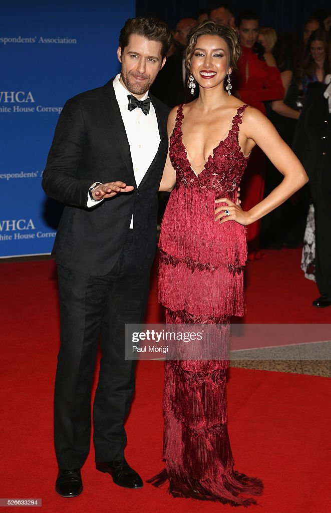 Actor <a gi-track='captionPersonalityLinkClicked' href=/galleries/search?phrase=Matthew+Morrison&family=editorial&specificpeople=171674 ng-click='$event.stopPropagation()'>Matthew Morrison</a> and Renee Morrison attend the 102nd White House Correspondents' Association Dinner on April 30, 2016 in Washington, DC.