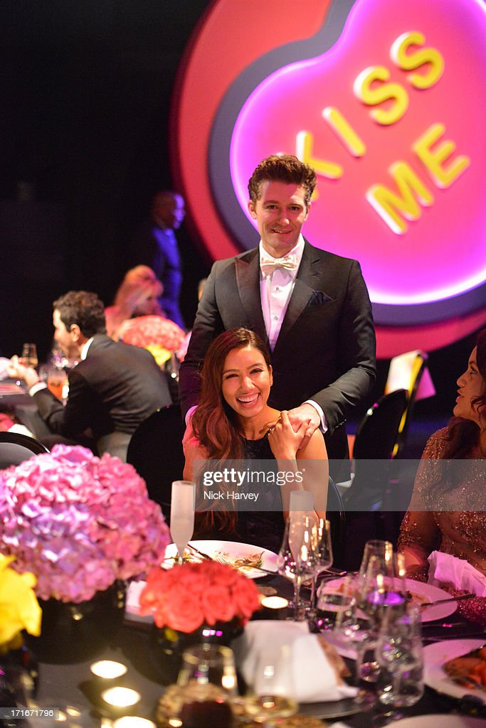 Actor <a gi-track='captionPersonalityLinkClicked' href=/galleries/search?phrase=Matthew+Morrison&family=editorial&specificpeople=171674 ng-click='$event.stopPropagation()'>Matthew Morrison</a> and Renee Puente attend the 15th Annual White Tie and Tiara Ball to Benefit Elton John AIDS Foundation in Association with Chopard at Woodside on June 27, 2013 in Windsor, England. No sales to online/digital media worldwide until the 14th of July. No sales before July 14th, 2013 in UK, Spain, Switzerland, Mexico, Dubai, Russia, Serbia, Bulgaria, Turkey, Argentina, Chile, Peru, Ecuador, Colombia, Venezuela, Puerto Rico, Dominican Republic, Greece, Canada, Thailand, Indonesia, Morocco, Malaysia, India, Pakistan, Nigeria. All pictures are for editorial use only and mention of 'Chopard' and 'The Elton John Aids Foundation' are compulsory. No sales ever to Ok, Now, Closer, Reveal, Heat, Look or Grazia magazines in the United Kingdom. No sales ever to any jewellers or watchmakers other than Chopard.