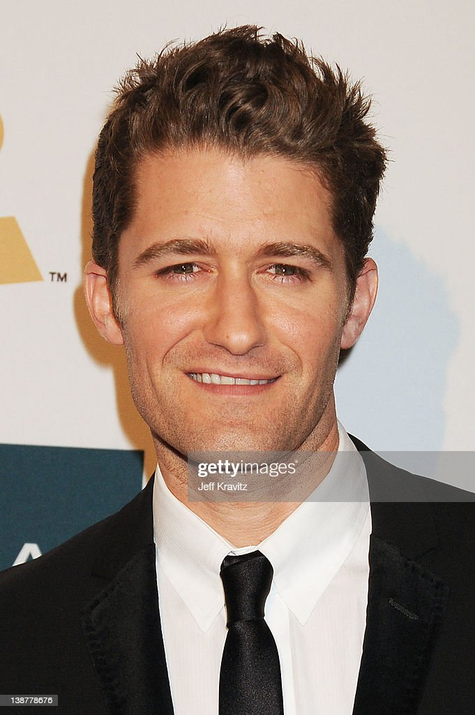 Actor <a gi-track='captionPersonalityLinkClicked' href=/galleries/search?phrase=Matthew+Morrison&family=editorial&specificpeople=171674 ng-click='$event.stopPropagation()'>Matthew Morrison</a> arrives at Clive Davis and the Recording Academy's 2012 Pre-GRAMMY Gala and Salute to Industry Icons Honoring Richard Branson held at The Beverly Hilton Hotel on February 11, 2012 in Beverly Hills, California.