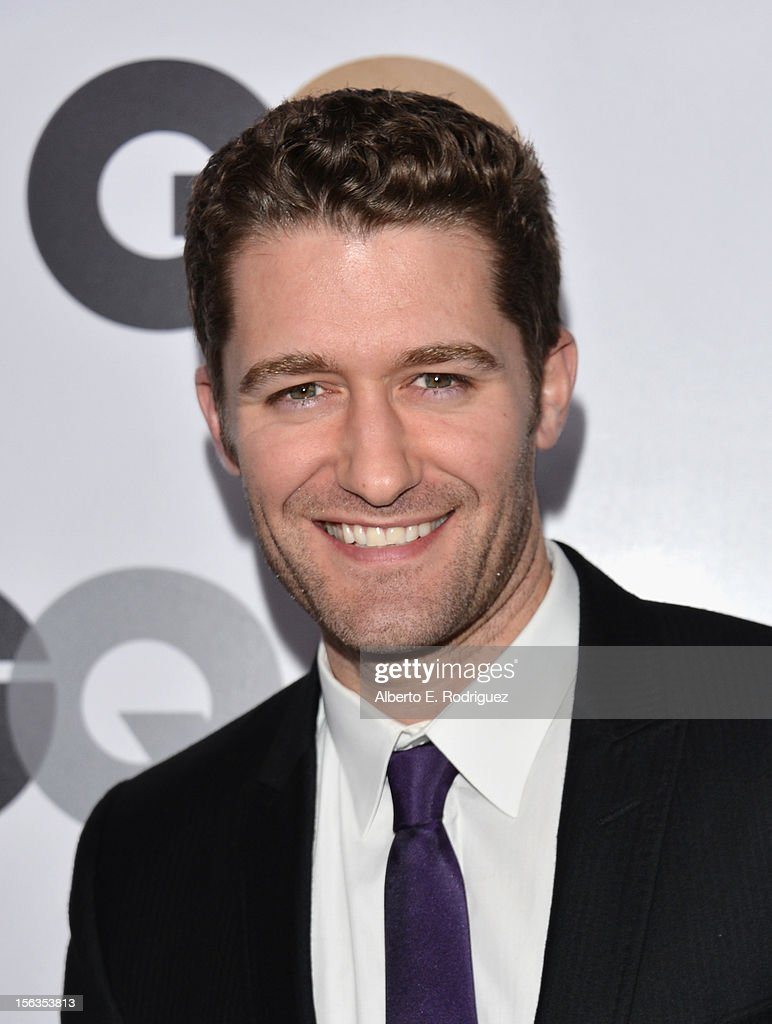 Actor Matthew Morrison arrives at the GQ Men of the Year Party at Chateau Marmont on November 13, 2012 in Los Angeles, California.