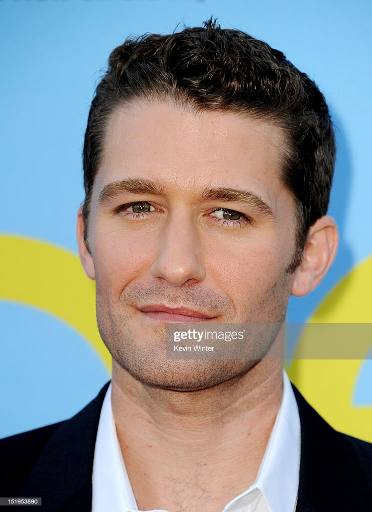 Actor <a gi-track='captionPersonalityLinkClicked' href=/galleries/search?phrase=Matthew+Morrison&family=editorial&specificpeople=171674 ng-click='$event.stopPropagation()'>Matthew Morrison</a> arrives at the premiere of Fox Television's 'Glee' at Paramount Studios on September 12, 2012 in Los Angeles, California.