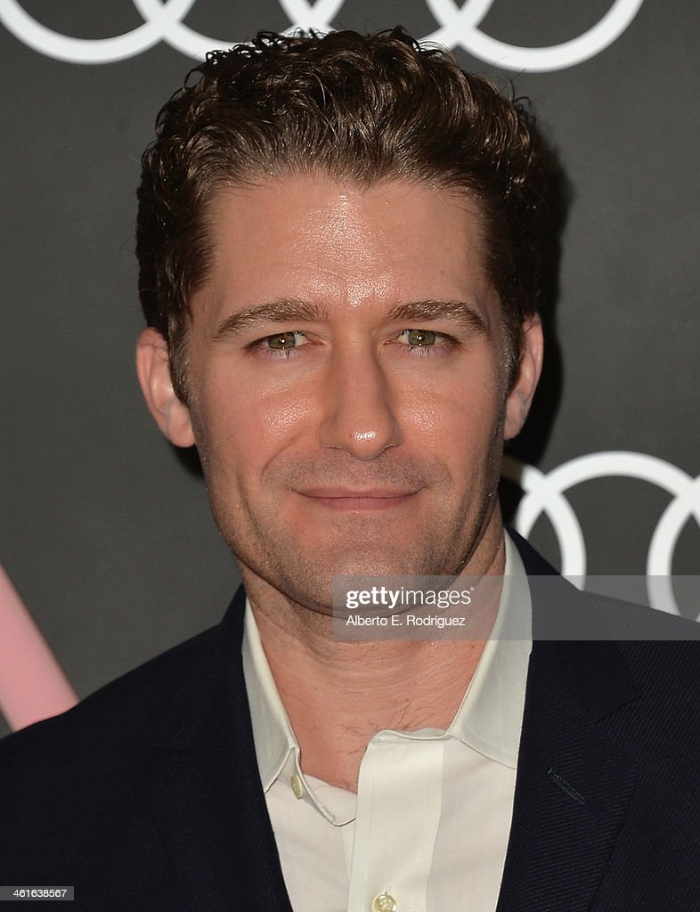 Actor Matthew Morrison arrives to Audi Celebrates Golden Globes Weekend at Cecconi's Restaurant on January 9 2014 in Los Angeles California
