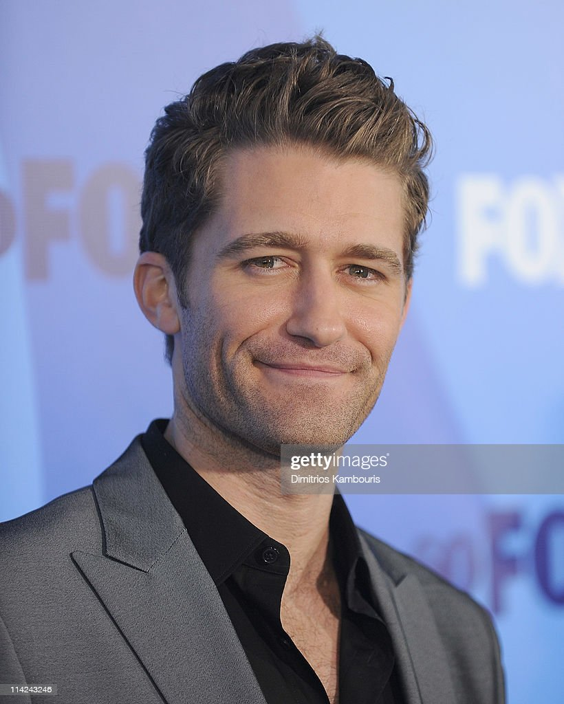 Actor <a gi-track='captionPersonalityLinkClicked' href=/galleries/search?phrase=Matthew+Morrison&family=editorial&specificpeople=171674 ng-click='$event.stopPropagation()'>Matthew Morrison</a> attends the 2011 Fox Upfront at Wollman Rink - Central Park on May 16, 2011 in New York City.