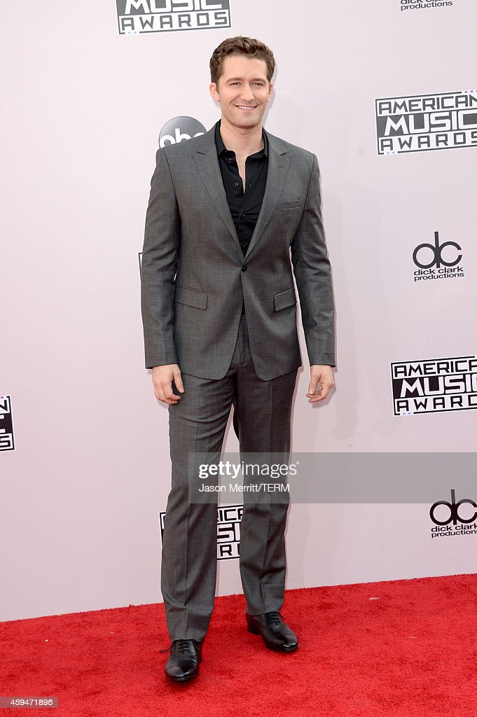 Actor Matthew Morrison attends the 2014 American Music Awards at Nokia Theatre LA Live on November 23 2014 in Los Angeles California