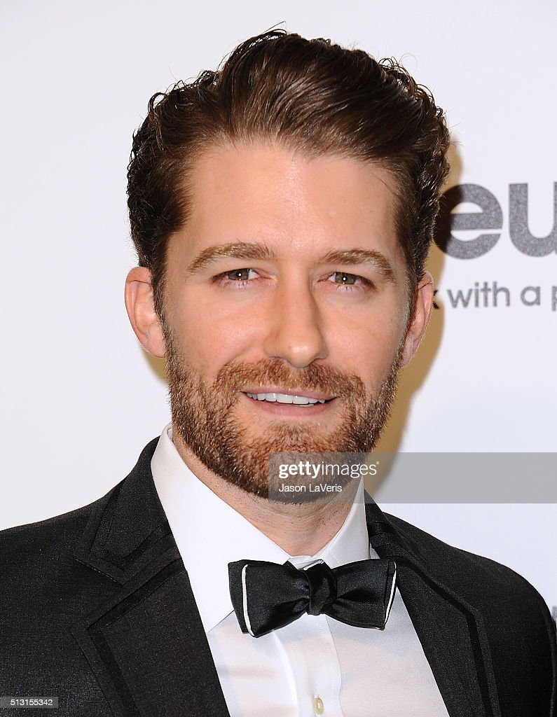 Actor Matthew Morrison attends the 24th annual Elton John AIDS Foundation's Oscar viewing party on February 28 2016 in West Hollywood California