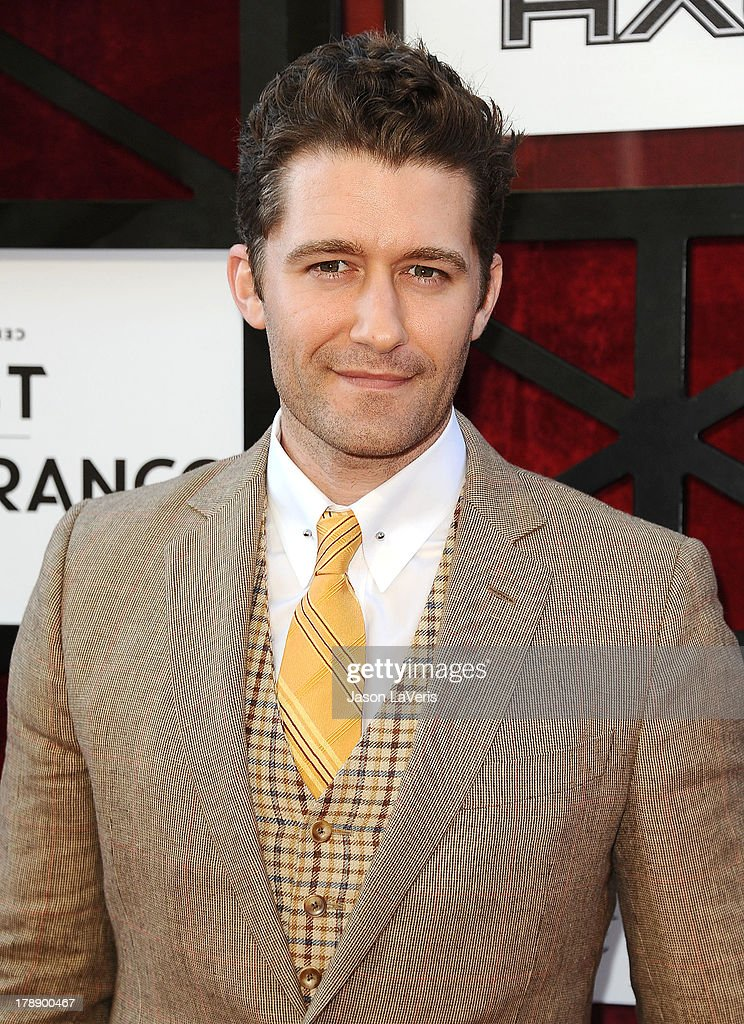 Actor Matthew Morrison attends the Comedy Central Roast of James Franco at Culver Studios on August 25, 2013 in Culver City, California.