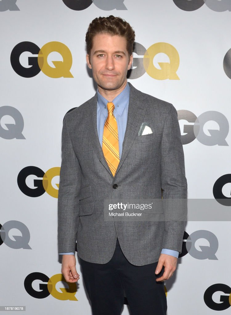 Actor <a gi-track='captionPersonalityLinkClicked' href=/galleries/search?phrase=Matthew+Morrison&family=editorial&specificpeople=171674 ng-click='$event.stopPropagation()'>Matthew Morrison</a> attends the GQ Men Of The Year Party at The Ebell Club of Los Angeles on November 12, 2013 in Los Angeles, California.