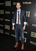 Actor Matthew Morrison attends the Hollywood Foreign Press Association and InStyle's celebration of the 2015 Golden Globe award season at Fig Olive...