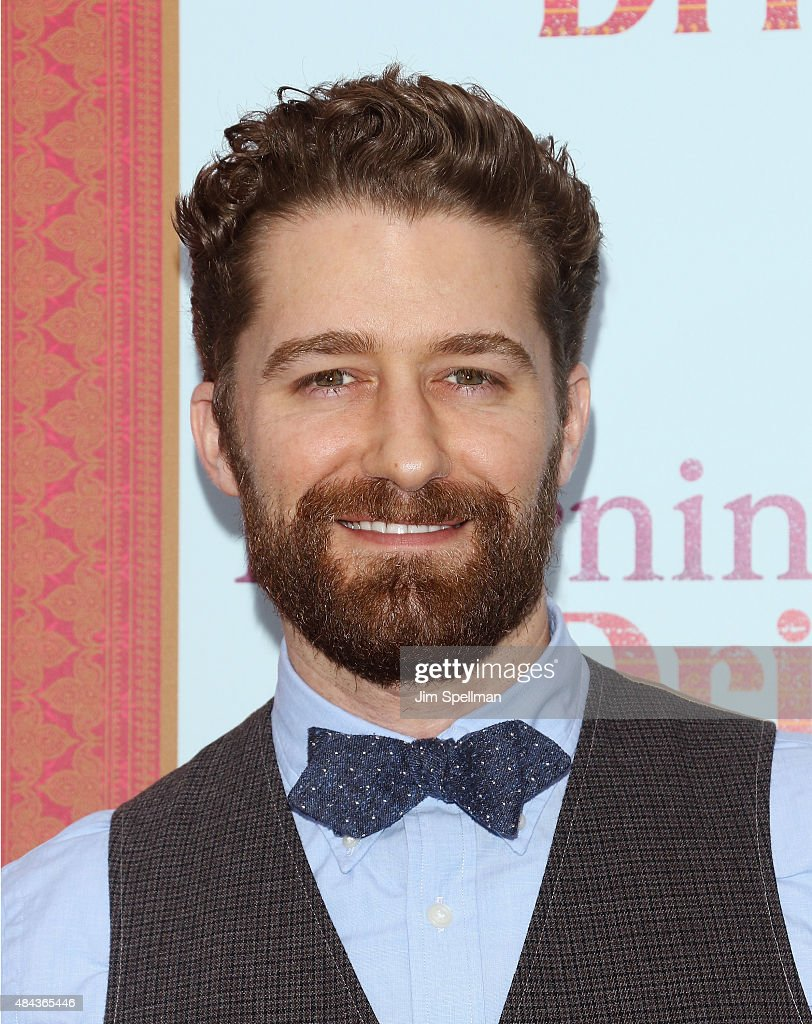 Actor Matthew Morrison attends the 'Learning To Drive' New York premiere at The Paris Theatre on August 17 2015 in New York City