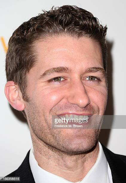 Actor Matthew Morrison attends the Premiere Of 'American Masters Inventing David Geffen' at The Writers Guild of America on November 13 2012 in...