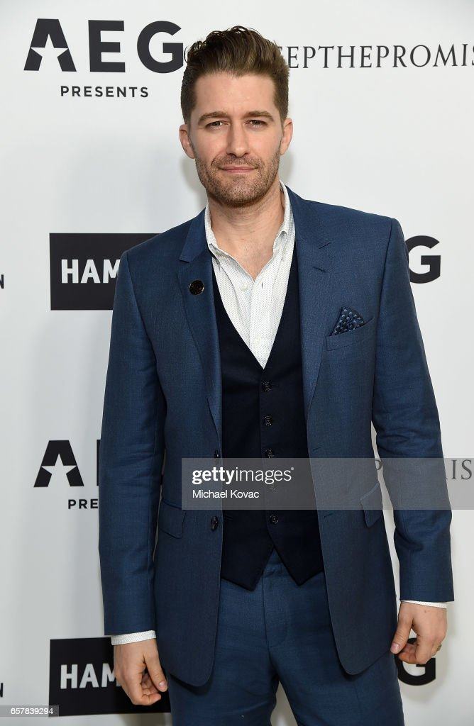 Actor Matthew Morrison celebrates Elton John's 70th Birthday and 50-Year Songwriting Partnership with Bernie Taupin benefiting the Elton John AIDS Foundation and the UCLA Hammer Museum at RED Studios Hollywood on March 25, 2017 in Los Angeles, California.