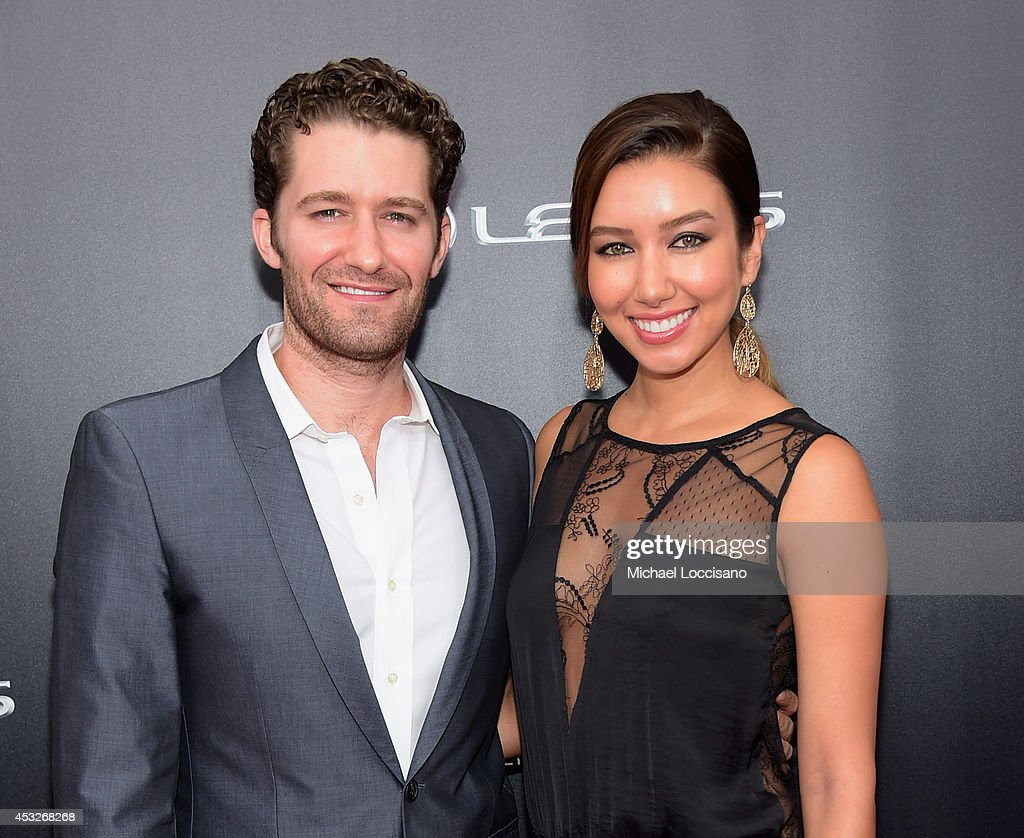 Actor <a gi-track='captionPersonalityLinkClicked' href=/galleries/search?phrase=Matthew+Morrison&family=editorial&specificpeople=171674 ng-click='$event.stopPropagation()'>Matthew Morrison</a> of Glee and <a gi-track='captionPersonalityLinkClicked' href=/galleries/search?phrase=Renee+Puente&family=editorial&specificpeople=5907523 ng-click='$event.stopPropagation()'>Renee Puente</a> attend the The 2nd Annual Lexus Short Films 'Life is Amazing' New York premiere presented by The Weinstein Company and Lexus at SVA Theater on August 6, 2014 in New York City.