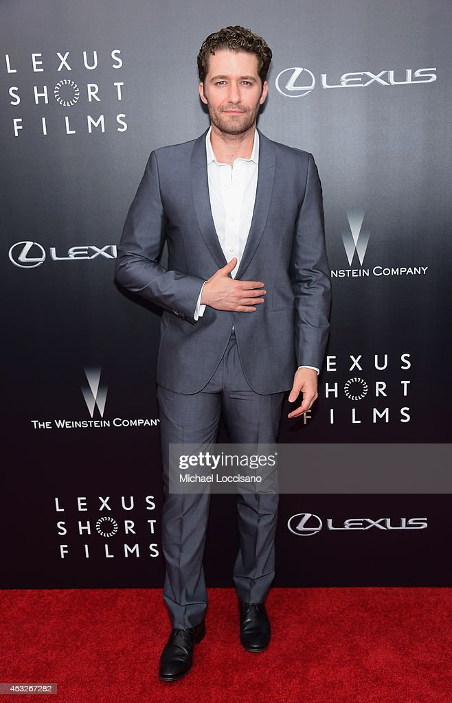 Actor <a gi-track='captionPersonalityLinkClicked' href=/galleries/search?phrase=Matthew+Morrison&family=editorial&specificpeople=171674 ng-click='$event.stopPropagation()'>Matthew Morrison</a> of Glee attends the The 2nd Annual Lexus Short Films 'Life is Amazing' New York premiere presented by The Weinstein Company and Lexus at SVA Theater on August 6, 2014 in New York City.