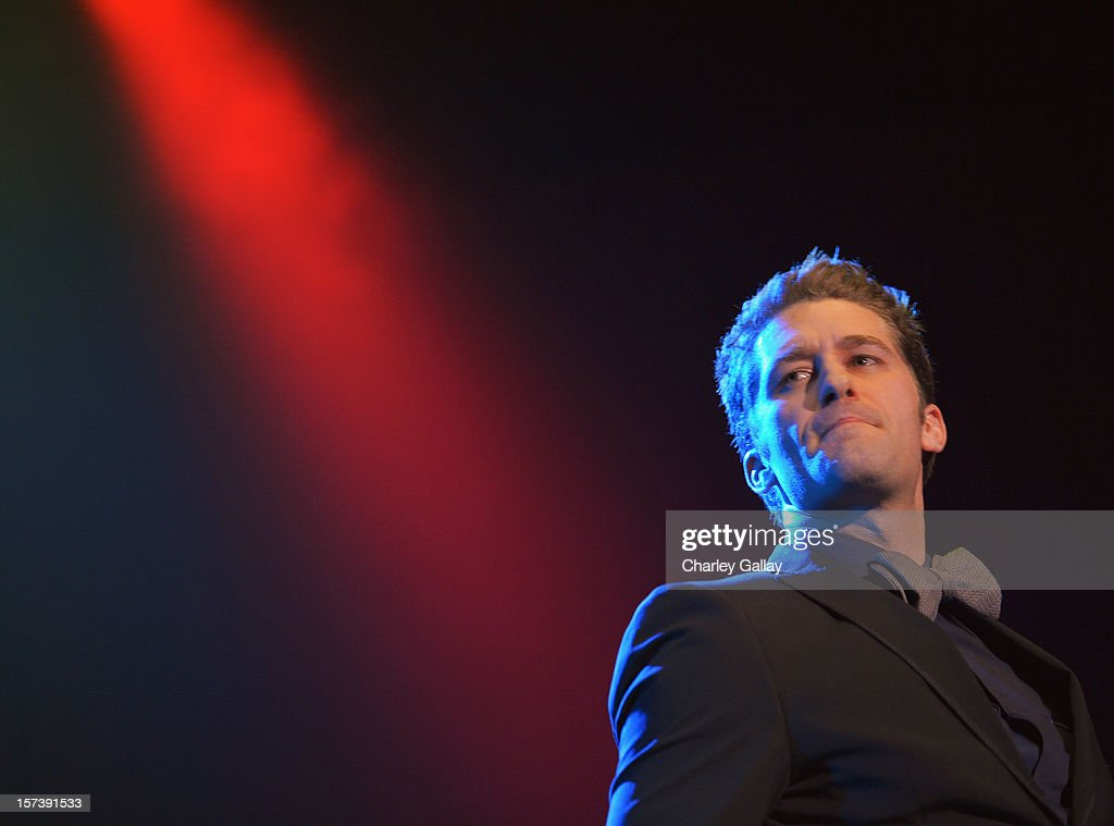 Actor Matthew Morrison onstage at 'Trevor Live' honoring Katy Perry and Audi of America for The Trevor Project held at The Hollywood Palladium on December 2, 2012 in Los Angeles, California.