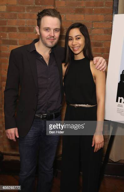 Actor Matthew Newton and Actress Octavia Chavez Richmond attends the Special Screening Of FilmRise's 'From Nowhere' at Tribeca Screening Room on...