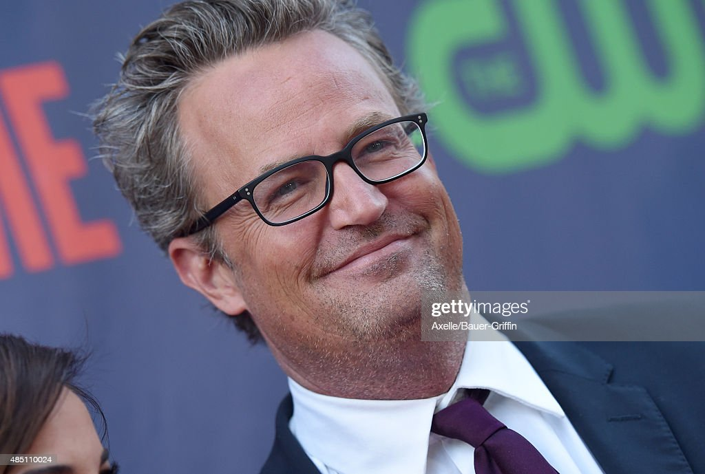 Actor Matthew Perry arrives at CBS CW And Showtime 2015 Summer TCA Party at Pacific Design Center on August 10 2015 in West Hollywood California