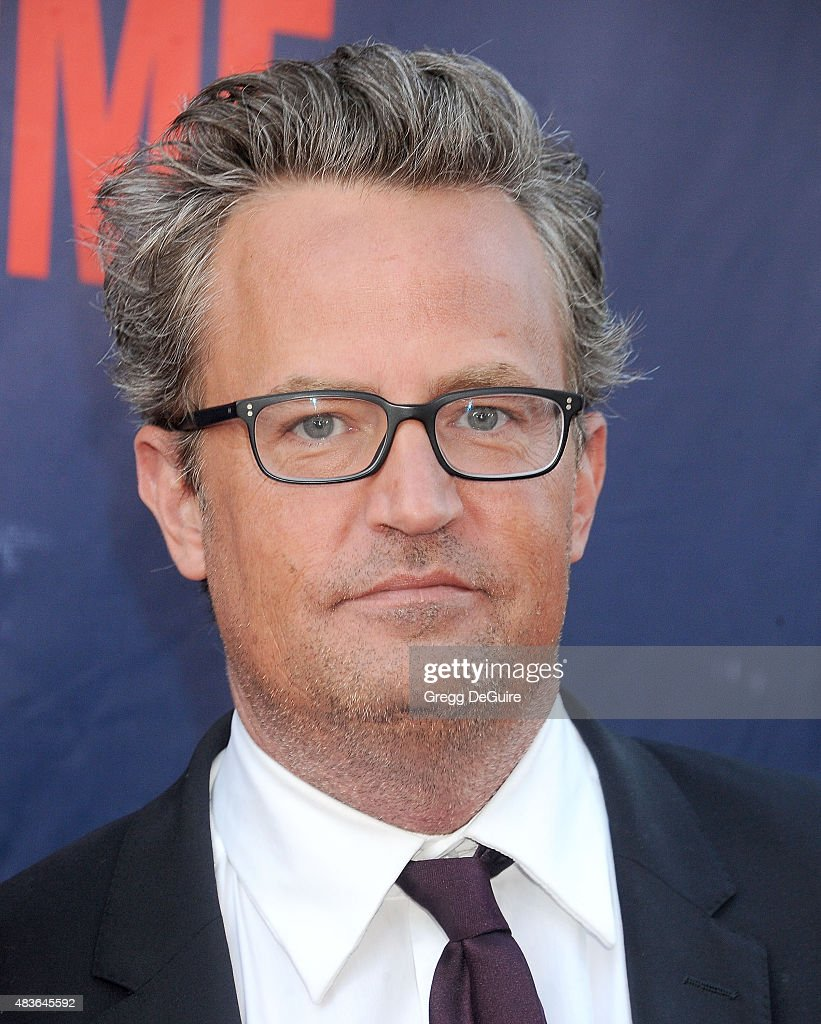 Actor Matthew Perry arrives at the CBS CW And Showtime 2015 Summer TCA Party at Pacific Design Center on August 10 2015 in West Hollywood California