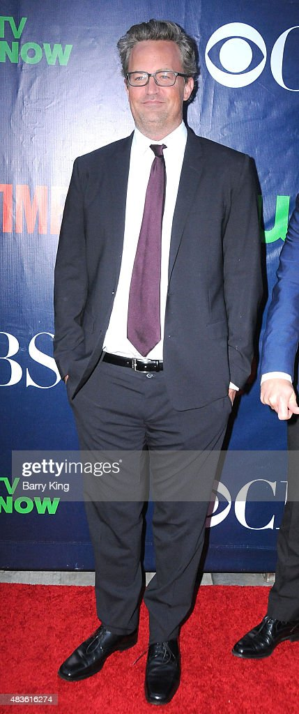 Actor Matthew Perry attends CBS' 2015 Summer TCA Party at Pacific Design Center on August 10 2015 in West Hollywood California