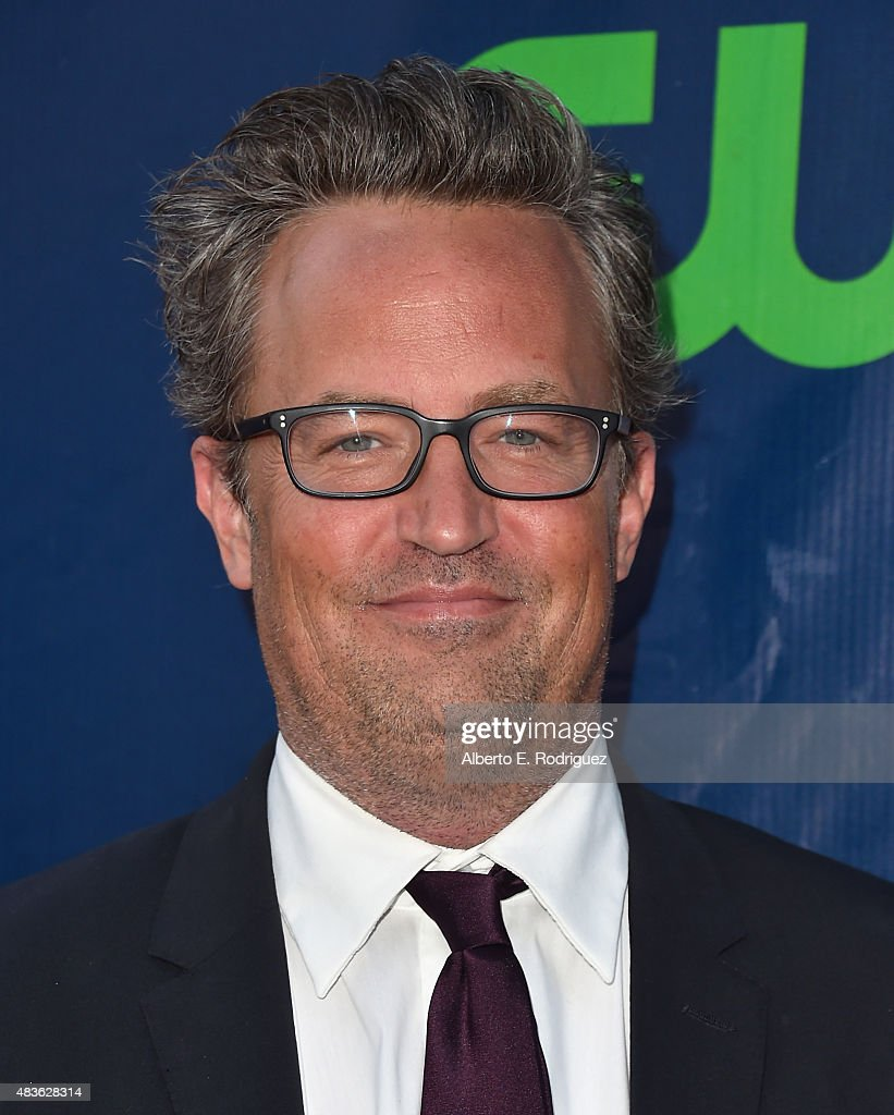 Actor Matthew Perry attends CBS' 2015 Summer TCA party at the Pacific Design Center on August 10 2015 in West Hollywood California