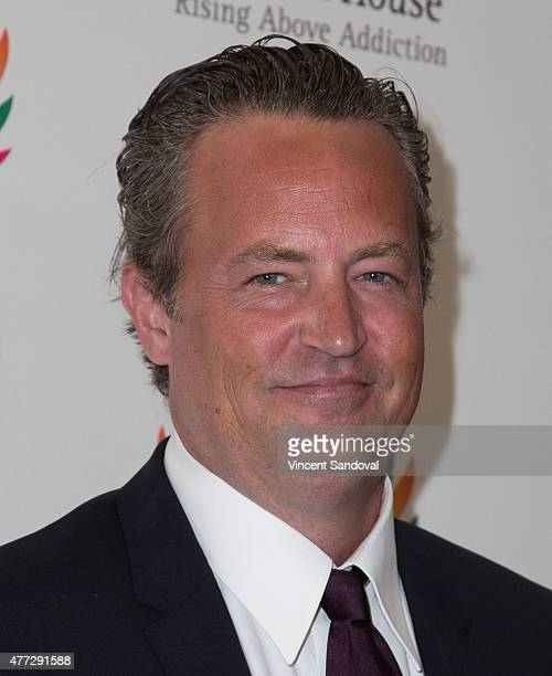Actor Matthew Perry attends Phoenix House 12th Annual Triumph for Teens Awards gala at Montage Beverly Hills on June 15 2015 in Beverly Hills...