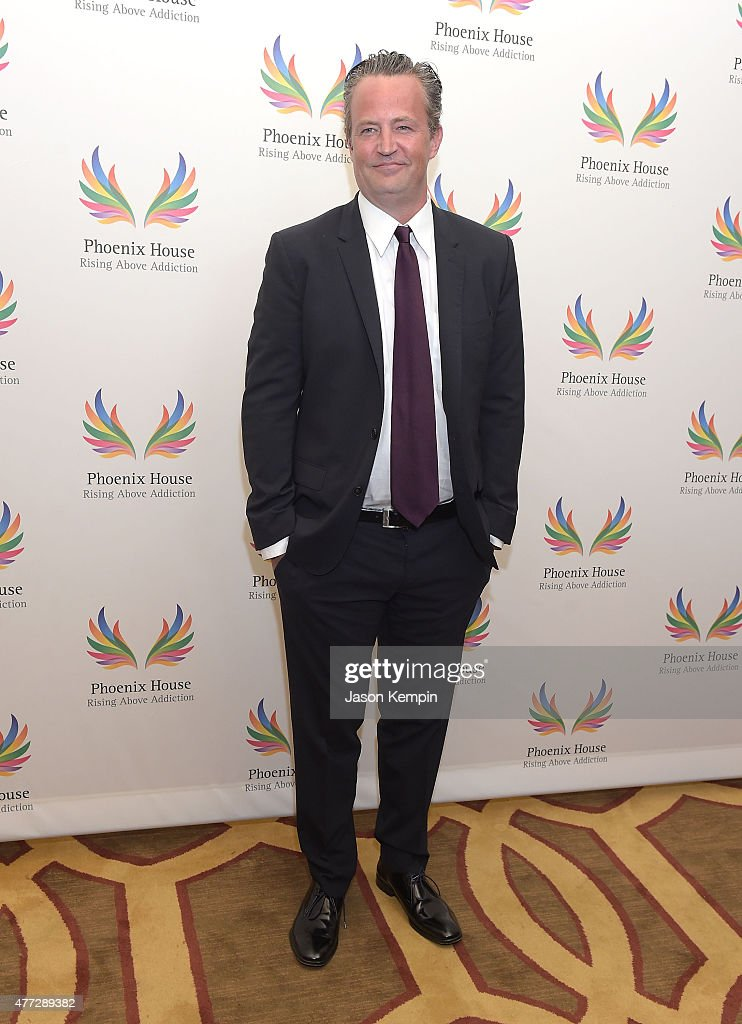 Actor Matthew Perry attends Phoenix House's 12th Annual Triumph For Teens Awards Gala at the Montage Beverly Hills on June 15 2015 in Beverly Hills...