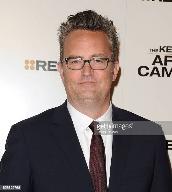 Actor Matthew Perry attends the premiere of 'The Kennedys After Camelot' at The Paley Center for Media on March 15 2017 in Beverly Hills California