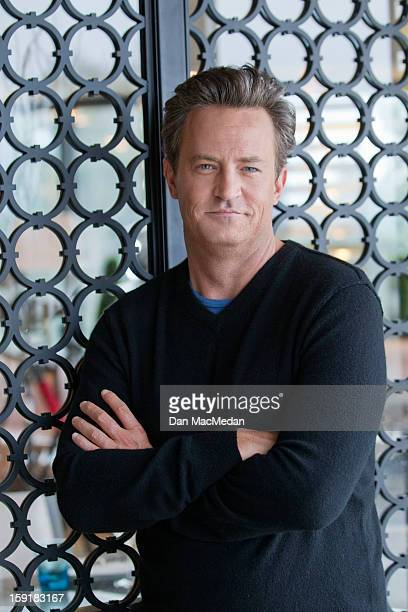 Actor Matthew Perry is photographed for USA Today on December 14 2012 in West Hollywood California