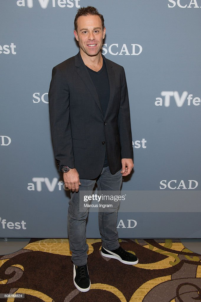 Actor Matthew Rauch attends 'Banshee' event during SCAD aTVfest 2016 Day 3 at the Four Seasons Atlanta Hotel on February 6, 2016 in Atlanta, Georgia.