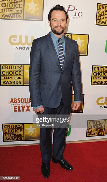 Actor Matthew Rhys arrives at the 4th Annual Critics' Choice Television Awards at The Beverly Hilton Hotel on June 19 2014 in Beverly Hills California