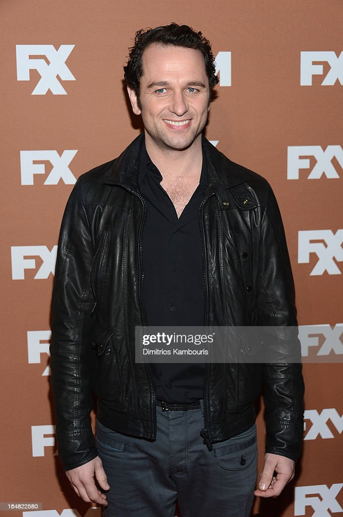 Actor Matthew Rhys attends the 2013 FX Upfront Bowling Event at Luxe at Lucky Strike Lanes on March 28, 2013 in New York City.
