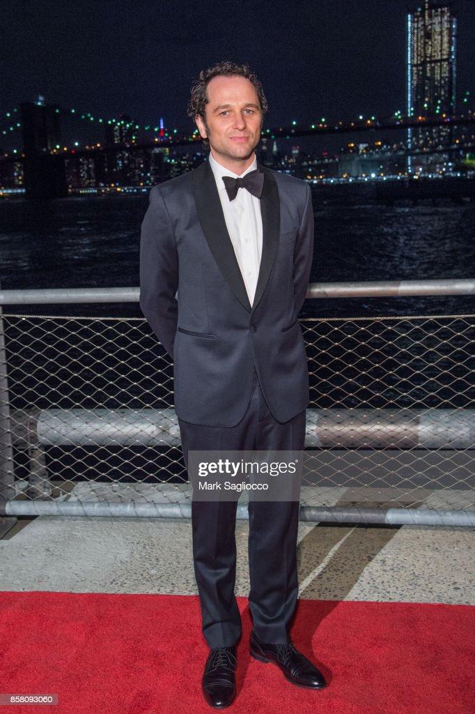 Actor Matthew Rhys attends the 2017 Brooklyn Bridge Park Conservancy Brooklyn Black Tie Ball at Pier 2 at Brooklyn Bridge Park on October 5, 2017 in the Brooklyn borough of New York City, New York.