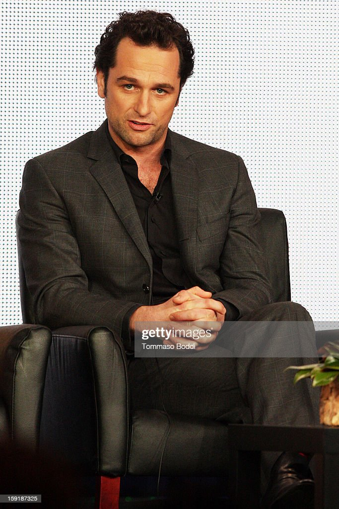 Actor <a gi-track='captionPersonalityLinkClicked' href=/galleries/search?phrase=Matthew+Rhys&family=editorial&specificpeople=733972 ng-click='$event.stopPropagation()'>Matthew Rhys</a> attends the TCA 2013 Winter Press Tour - FX panels held at The Langham Huntington Hotel and Spa on January 9, 2013 in Pasadena, California.