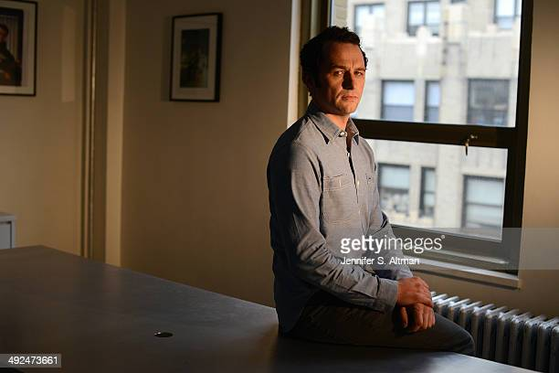 Actor Matthew Rhys is photographed for Los Angeles Times on March 7 2014 in New York City PUBLISHED IMAGE