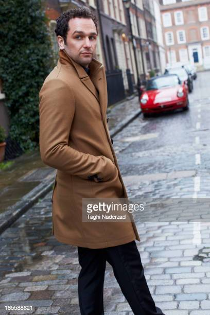 Actor Matthew Rhys is photographed for Red Magazine UK on July 14 2013 in London England ON EMBARGO UNTIL NOVEMBER 1 2013
