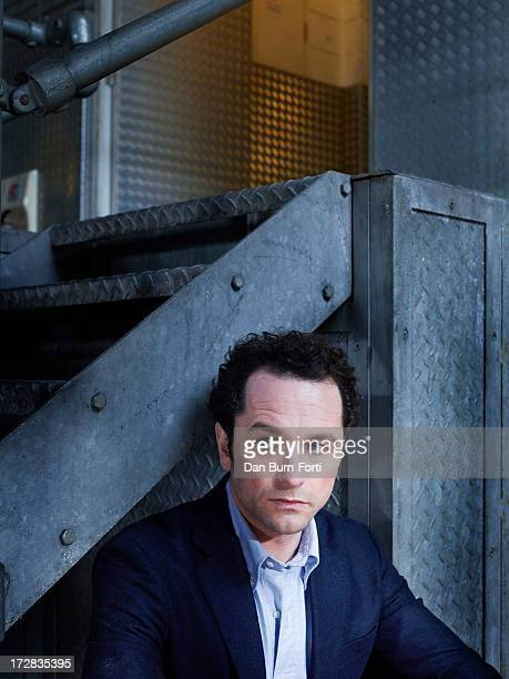 Actor Matthew Rhys is photographed for the Telegraph on April 9 2013 in London England