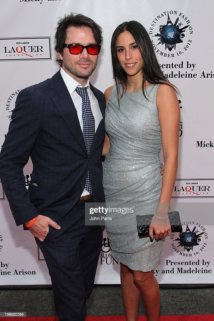 Actor Matthew Settle and Maria Alfonsin attend Destination Fashion 2012 To Benefit The Buoniconti Fund To Cure Paralysis, the fundraising arm of The Miami Project to Cure Paralysis, on November 10, 2012 in Miami, Florida.
