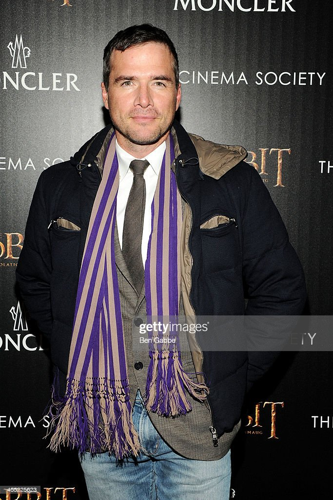 Actor <a gi-track='captionPersonalityLinkClicked' href=/galleries/search?phrase=Matthew+Settle&family=editorial&specificpeople=214670 ng-click='$event.stopPropagation()'>Matthew Settle</a> attends The Cinema Society & Moncler host a screening of New Line Cinema & MGM Pictures' 'The Hobbit: The Desolation of Smaug' at Time Warner Screening Room on December 11, 2013 in New York City.