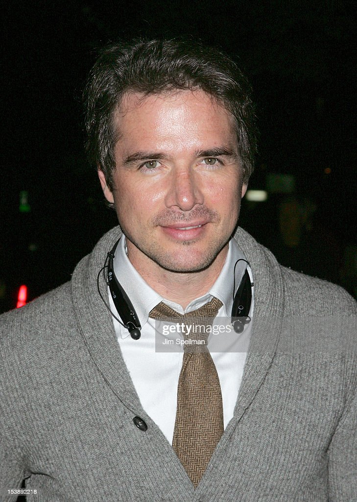Actor Matthew Settle attends The Cinema Society with Hugo Boss and Appleton Estate screening of 'Seven Psychopaths' at Clearview Chelsea Cinemas on October 10, 2012 in New York City.