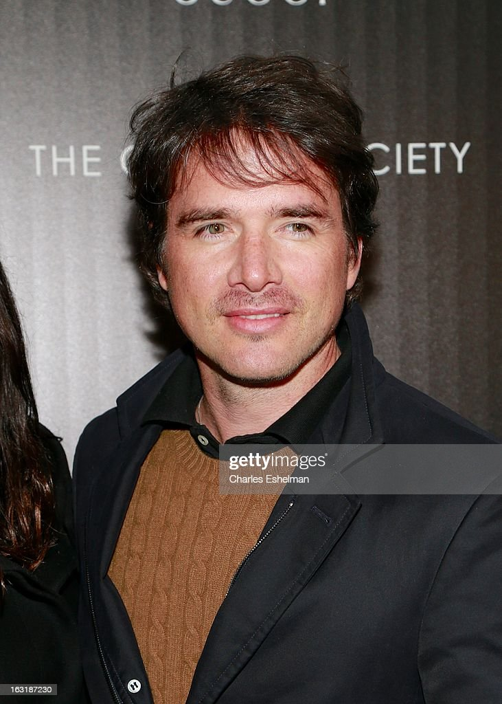 Actor <a gi-track='captionPersonalityLinkClicked' href=/galleries/search?phrase=Matthew+Settle&family=editorial&specificpeople=214670 ng-click='$event.stopPropagation()'>Matthew Settle</a> attends the Gucci and The Cinema Society screening of 'Oz the Great and Powerful' at the DGA Theater on March 5, 2013 in New York City.