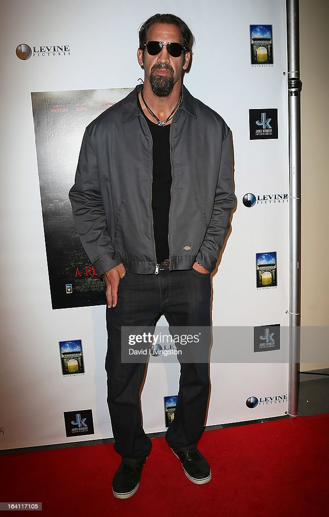 Actor Matthew Willig attends the premiere of 'A Resurrection' at ArcLight Sherman Oaks on March 19, 2013 in Sherman Oaks, California.
