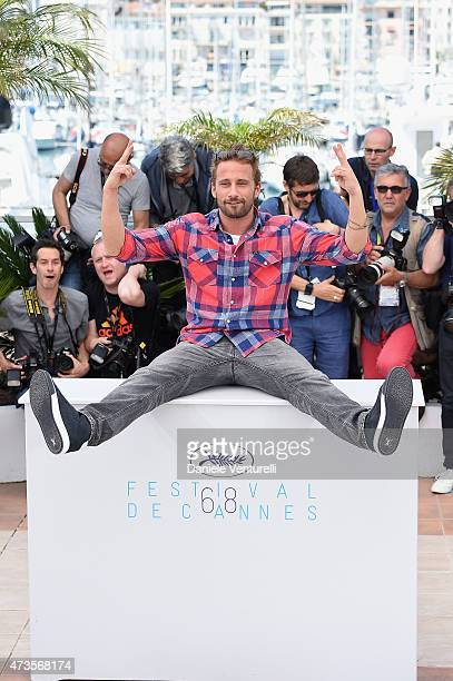 Actor Matthias Schoenaerts attends the 'Disorder' photocall during the 68th annual Cannes Film Festival on May 16 2015 in Cannes France